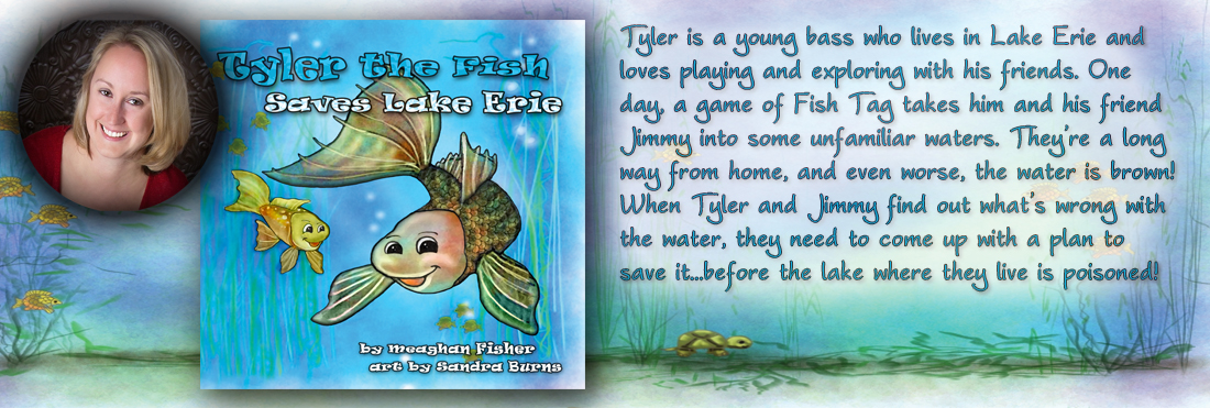 Tyler the Fish Saves Lake Erie web banner