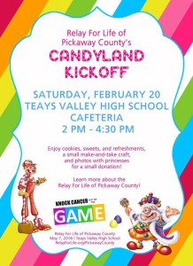 candyland- Pickaway relay for life