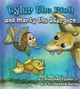 Tyler the Fish and Marty the Sturgeon Cover web